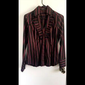 Express Red & Black Dress Up Shirt